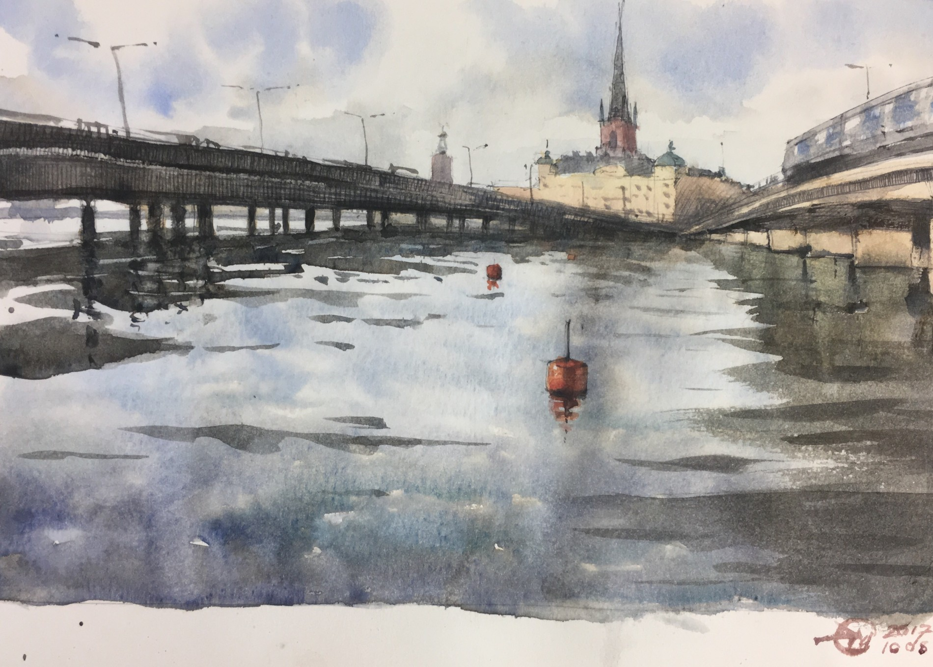 stockholm sketch by meldrum