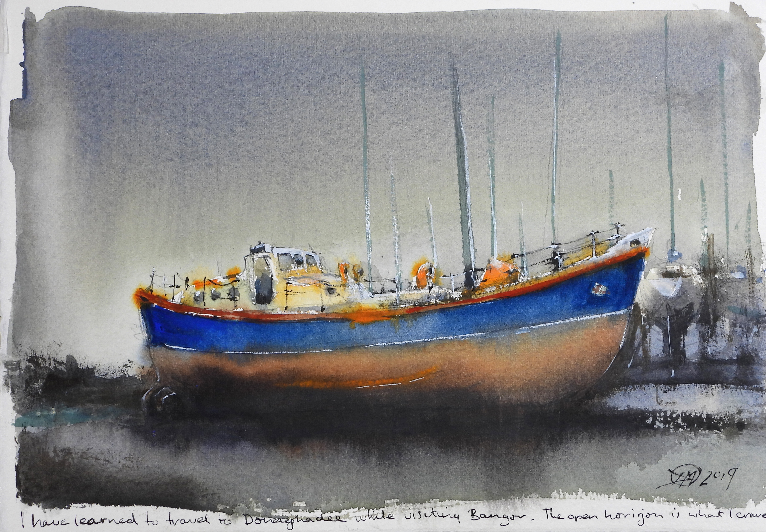 meldrum art - life boat