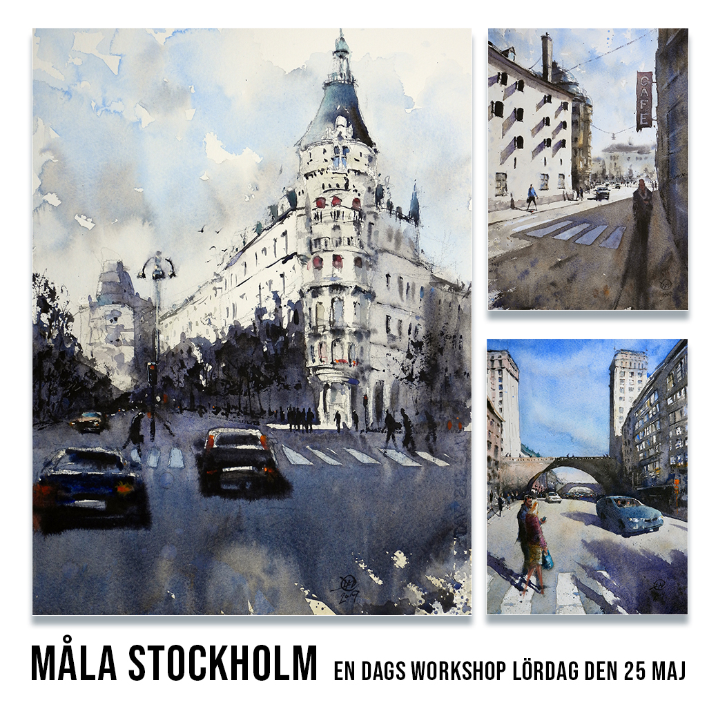 Painting Stockholm